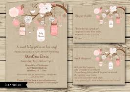 rustic baby shower invitation diaper raffle book