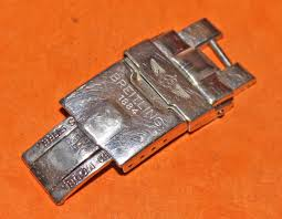 buckle clasp bracelet images Genuine breitling polished folding deployant clasp buckle bracelet jpg