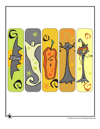 printable halloween bookmarks halloween bookmarks cute