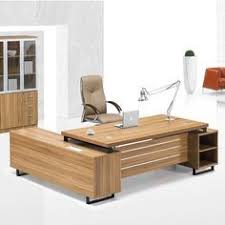 Used Office Furniture Florence Sc by Dark Chocolate Modern U Shaped Office Desk With Brushed Nickel