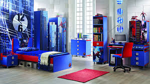 cool bedrooms ideal est bedroom designs bedroom design decorating extra large size of neat blue spiderman wall me connected by blue wooden bed on