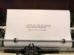 Typewriter Meme - if this post gets 5000 upvotes i will finish typing the entire bee