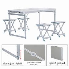folding cing picnic table folding cing table and stools best stool 2018
