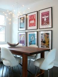how to decorate using posters