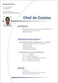 exemple cv cuisine modèle cv saisonier originaux cv exemple cv et