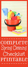 the complete spring cleaning checklist the gracious wife