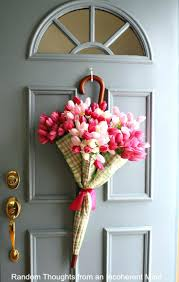 valentine decorations front door wreath halloween floral