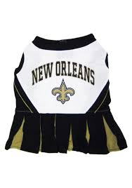 new orleans saints dog cheerleader halloween costumes