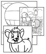 free coloring pages all kids network