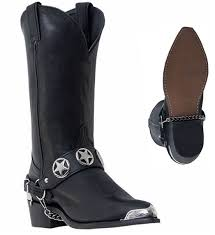 motorcycle harness boots dingo boots outlaw men u0027s leather biker star harness western cowboy