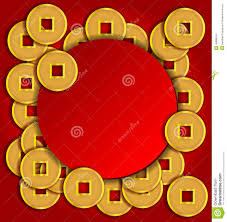 new year coin gold coins background for new year stock vector
