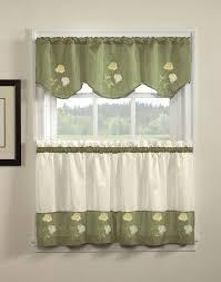 Kitchen Curtain Valances Ideas - kitchen trendy kitchen curtains valances contemporary and