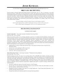 Sample Army Resume by Email To Recruiter With Resume Resume For Your Job Application