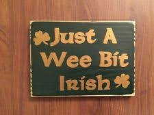irish decor for home irish celtic home décor plaques signs ebay