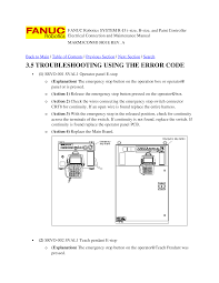 fanuc robotics system r j3 troubleshooting and maintenance manual