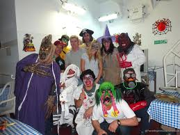 public halloween party halloween party on board hs bach travelling on container vessels