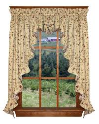 Country Style Window Curtains Country Style Curtains Valances Medium Size Of Living And Swags