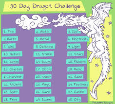 By Challenge 30 Day Challenge By Theleatherdragoni On Deviantart