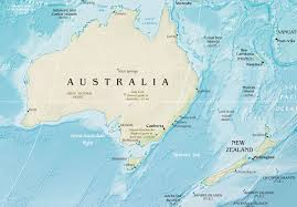 New Zealand On A World Map by English Speaking Countries Lessons Tes Teach