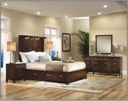 mesmerizing beige best bedroom paint color oak wood platform bed