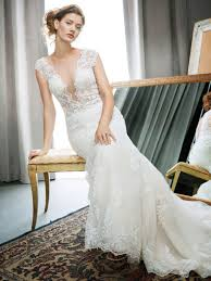 wedding dress trend 2017 the wedding dress trend of 2017 plunging neckline