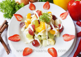 cara membuat salad sayur atau buah resep masakan penderita diabetes salad buah