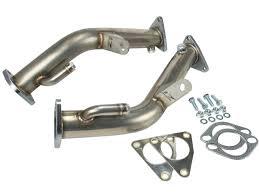 Nissan 350z Nismo Exhaust - z1 350z hr ss test pipes z1 motorsports