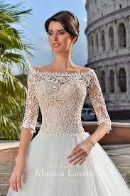 wedding dress aurora rome collection monica loretti wedding dress
