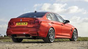 Bmw M3 Yellow 2016 - 2016 bmw m3 sedan competition package uk spec rear hd