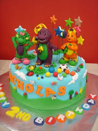barney birthday cake 45 best barney cakes images on barney cake barney