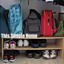 this simple home coat closet organization
