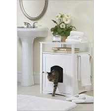 enclosed dog bed cat litter box