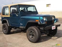 1995 Emerald Green Pearl Jeep Wrangler S 4x4 60111076 Gtcarlot