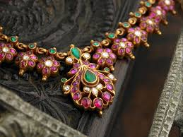 traditional south indian temple jewellery crafted in 22 ct