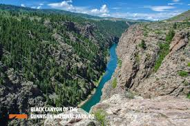 black canyon of the gunnison national park outthere colorado