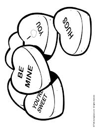 coloring pages valentines fablesfromthefriends