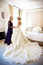 feather wedding dress stunning wedding dress with feather wearing white