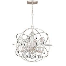 Silver Chandelier 37 Best Lighting Images On Pinterest Chandeliers Ls And