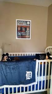 Detroit Tigers Crib Bedding Baby Nursery Crib Bedding Set W Detroit Tigers Fabric Ebay Omg U
