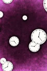 cool clock faces multiple cool clock faces on purple journal take notes write down