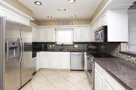 furniture small kitchen using u shaped white wood kitchen