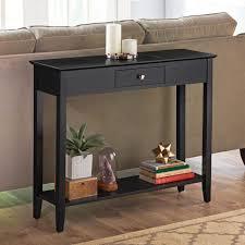the hidden storage console table hammacher schlemmer