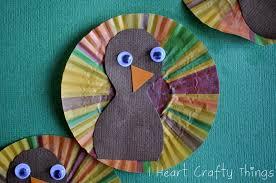 five little turkeys craft i heart crafty things