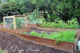 Vegetable Garden Bed Design by Diy Design Fanatic Raised Bed Update