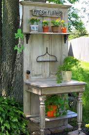 Gardening Table Gardening Table Ideas Home Outdoor Decoration
