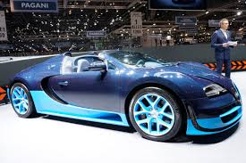 latest bugatti bugatti grand sport vitesse debut at geneva