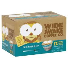 Blend K Cups Wide Awake Coffee Co Wide Awake Blend Single Serve Cups Hy Vee