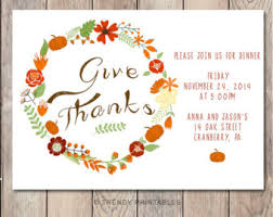 printable thanksgiving dinner invitations happy thanksgiving
