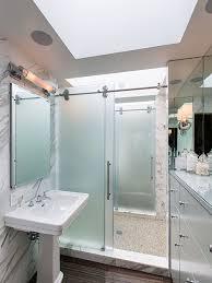 sliding shower door houzz