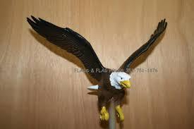 Bald Eagle On Flag Flagpole Eagle Flags U0026 Flag Poles